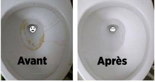 des astuces naturelles pour nettoyer vos toilettes et les. Black Bedroom Furniture Sets. Home Design Ideas