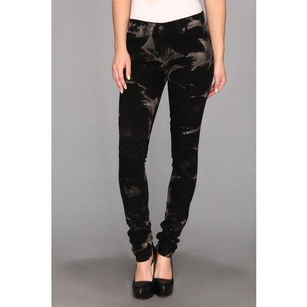 Textile Elizabeth and James Debbie in Lightning Women's Jeans, Blue ($65) ❤ liked on Polyvore