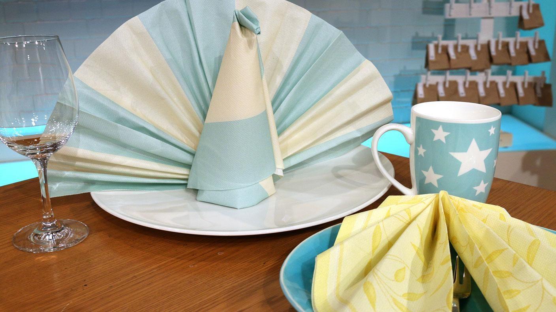 servietten ideen f r festliche anl sse tischdeko pinterest serviette ideen servietten und. Black Bedroom Furniture Sets. Home Design Ideas