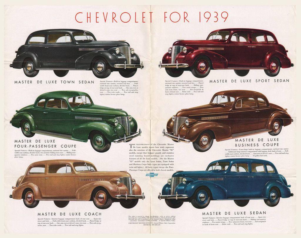 1932 CHEVROLET PASSENGER CAR SALES BROCHURE