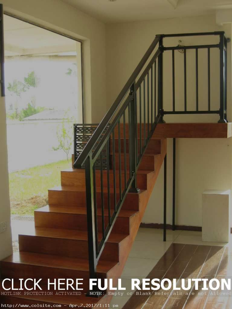 New style assembled stair railings with hot dip galvanized - How to install interior stair railings ...