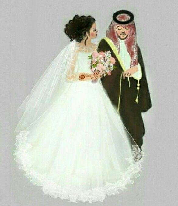 Pin By Naadiyah On Anime Wedding Drawing Bride Cartoon Bride