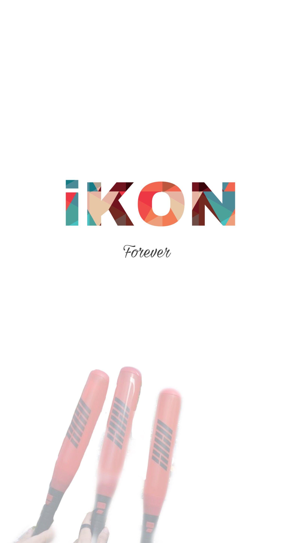 Ikonic Ikon Kpop Wallpaper Lightstick Picsart Di 2019