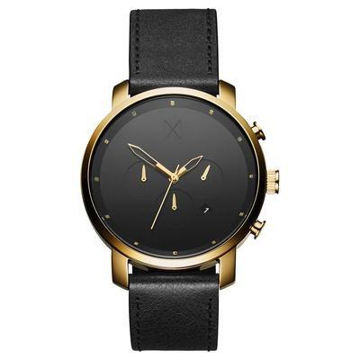 Chrono Gold/Black Leather