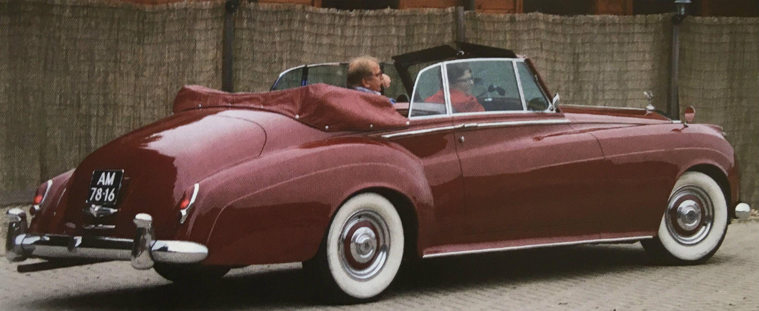 (1962) Convertible Coupé by H.J. Mulliner (design 7504)