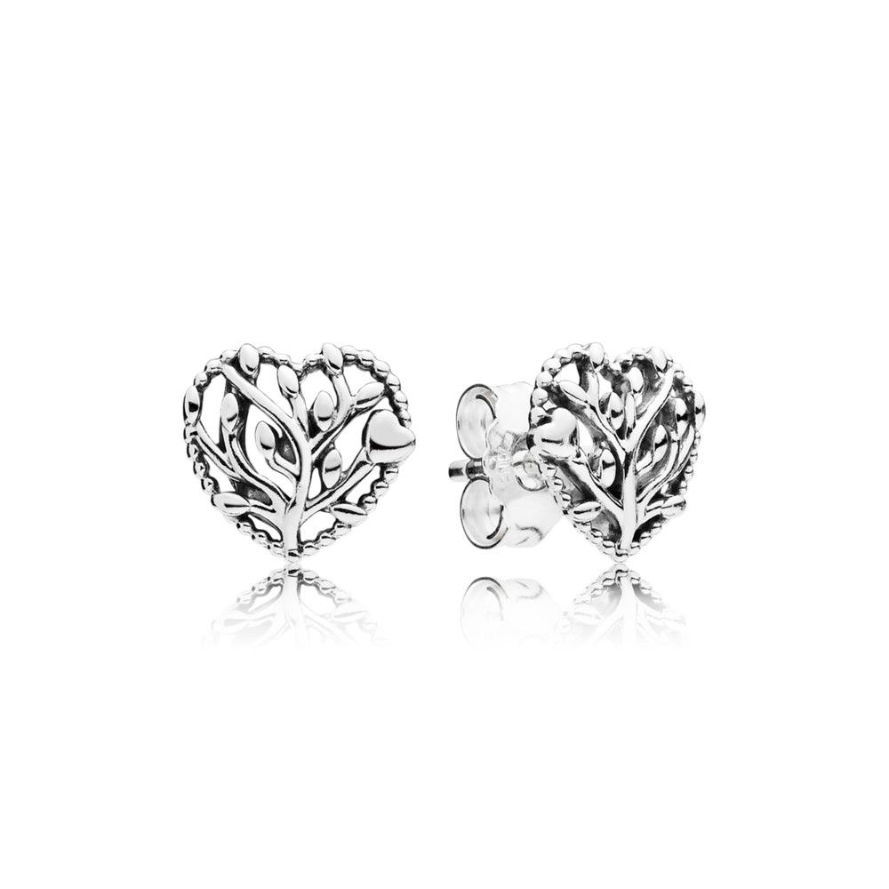 Pandora Women Silver Stud Earrings - 297085 QyIG8