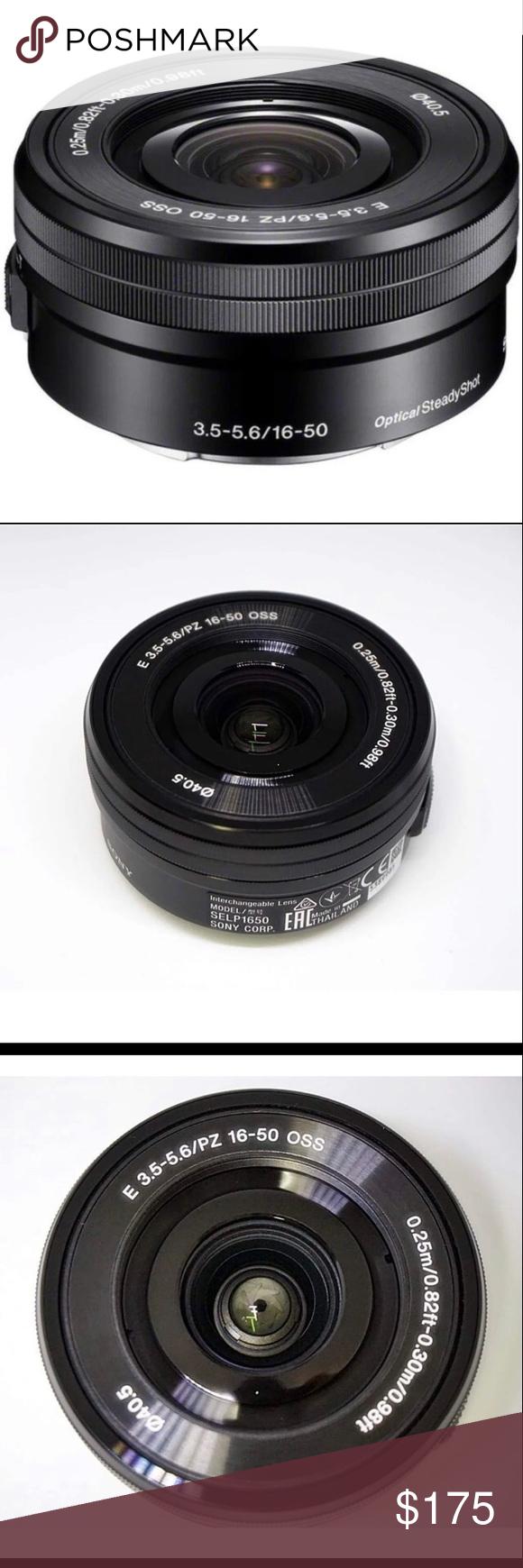 Sony 16 50 3 5 5 6 Oss Emount Lens Mirrorless Camera Oss Lens