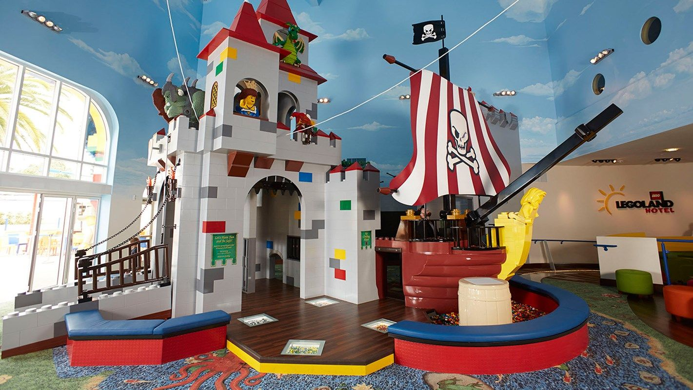 The Legoland Hotel In California Creates A World Designed To Bring Imaginations Life Complete Your Visit And Stay At Lego
