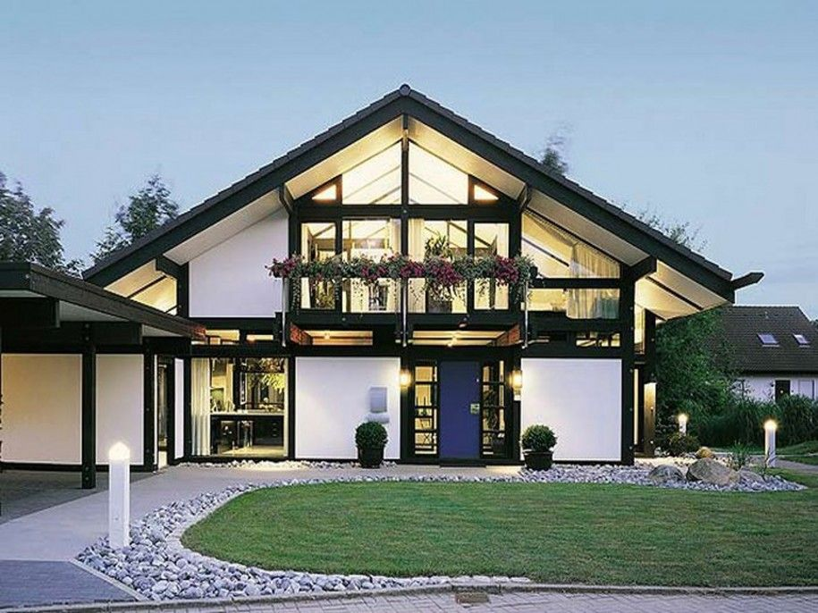 Perfect Home Design Ideas, Nice Architecture Of Luxury Prefab Homes With Large  Yard: Stunnning Prefabricated Luxury Homes Designing