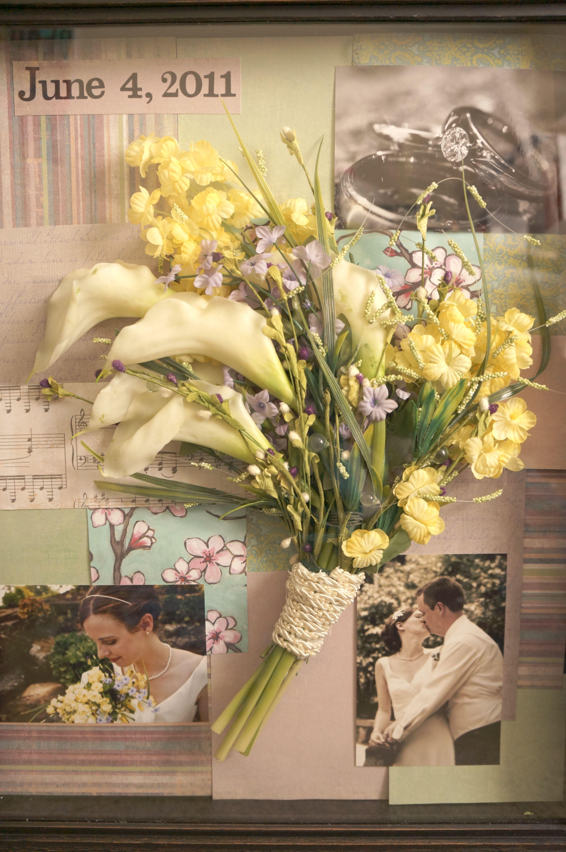 DIY Wedding bouquet shadowbox | Special Day | Pinterest ...