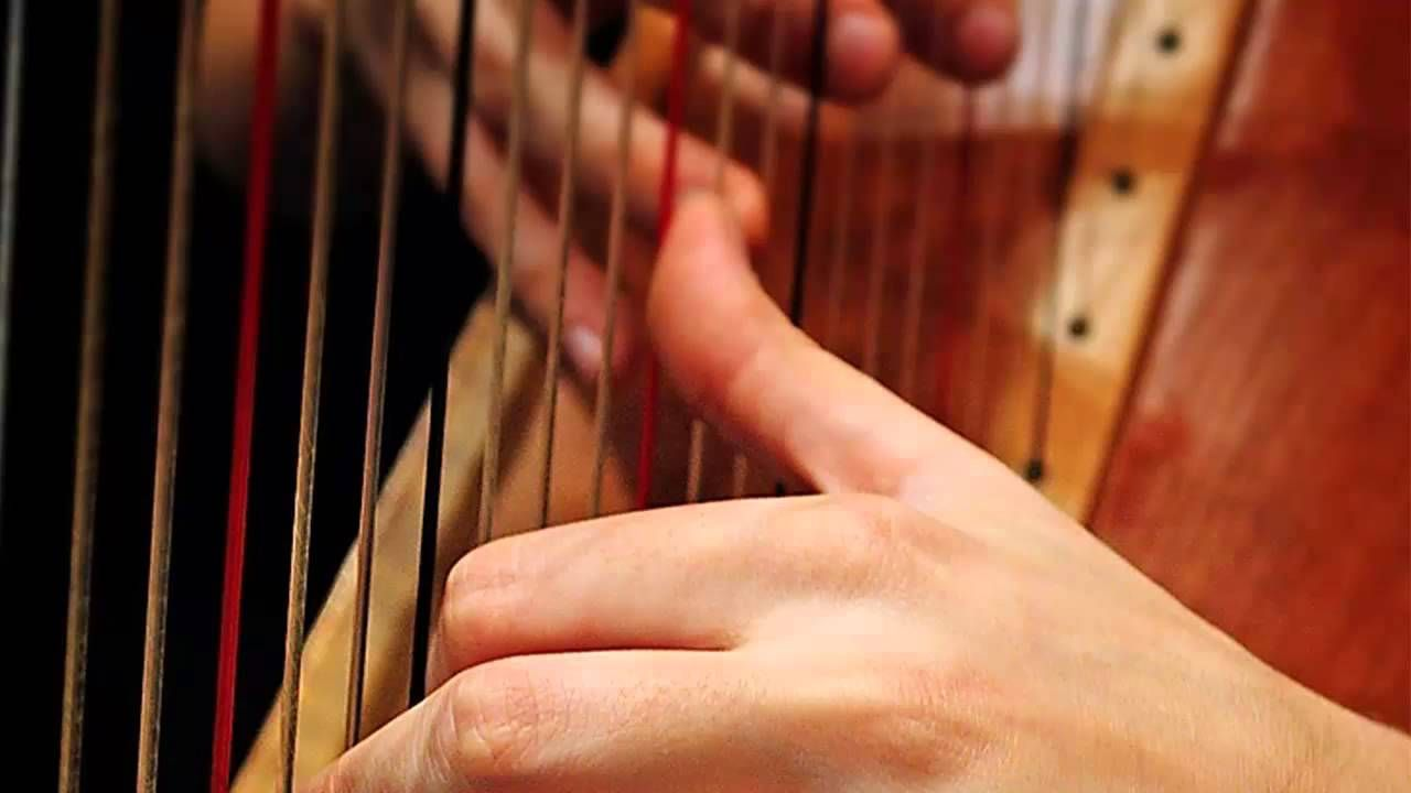 Quick Relaxation - 2 Minute Beautiful Harp Music for