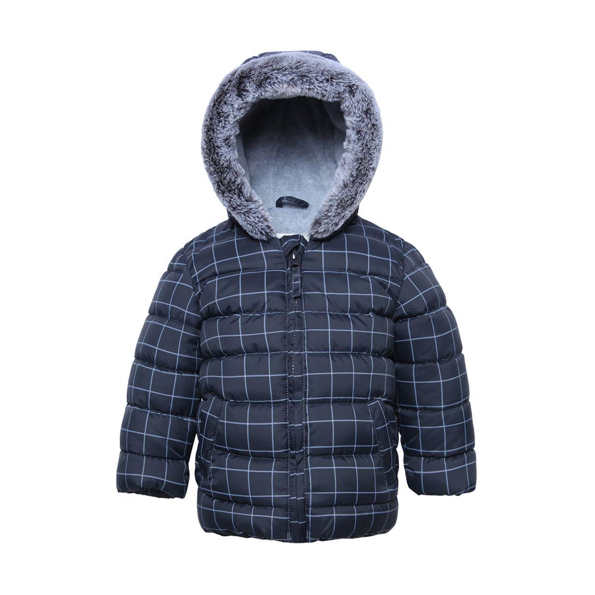 Soft Fleece Puffer Jacket Dark Gray Stone in 2020