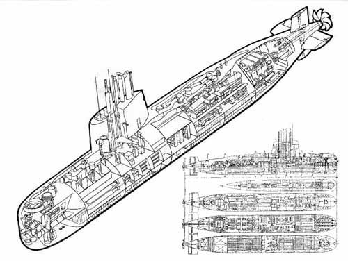 submarine plans diver pinterest