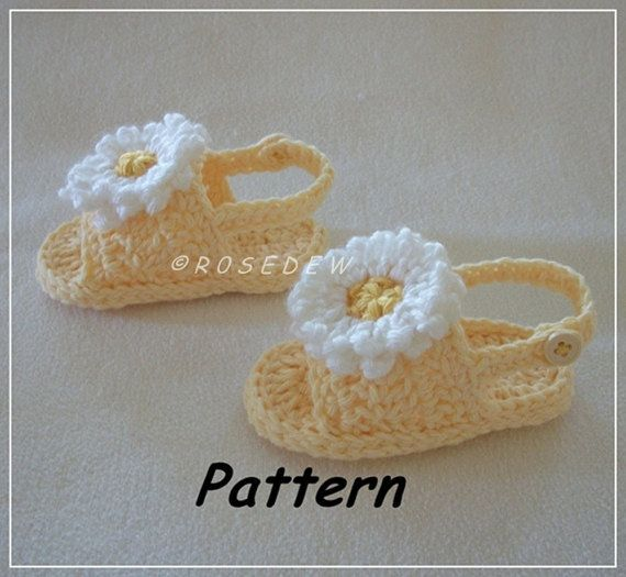 Instant Download for PDF Crochet PATTERN: Back Strap Summer Baby ...