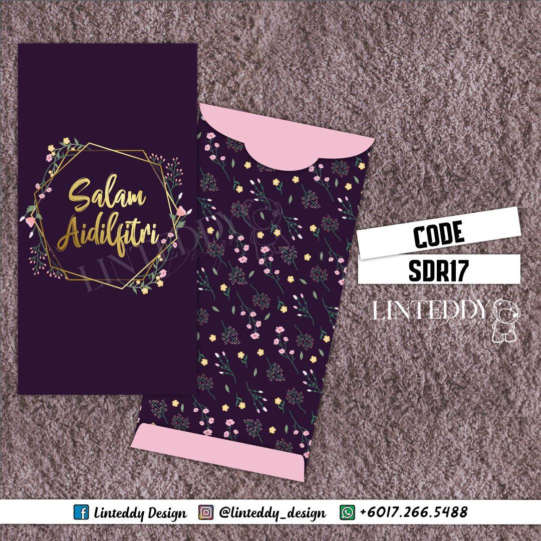 Sampul Duit Raya Floral Design Floral Packaging Design