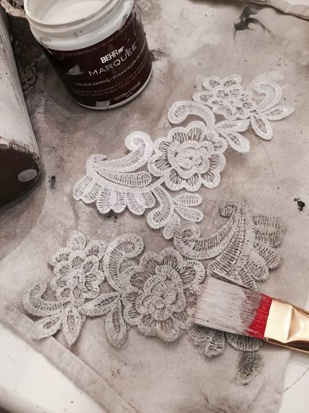 DIY – Shabby Chic Flower Pots – Tutorial