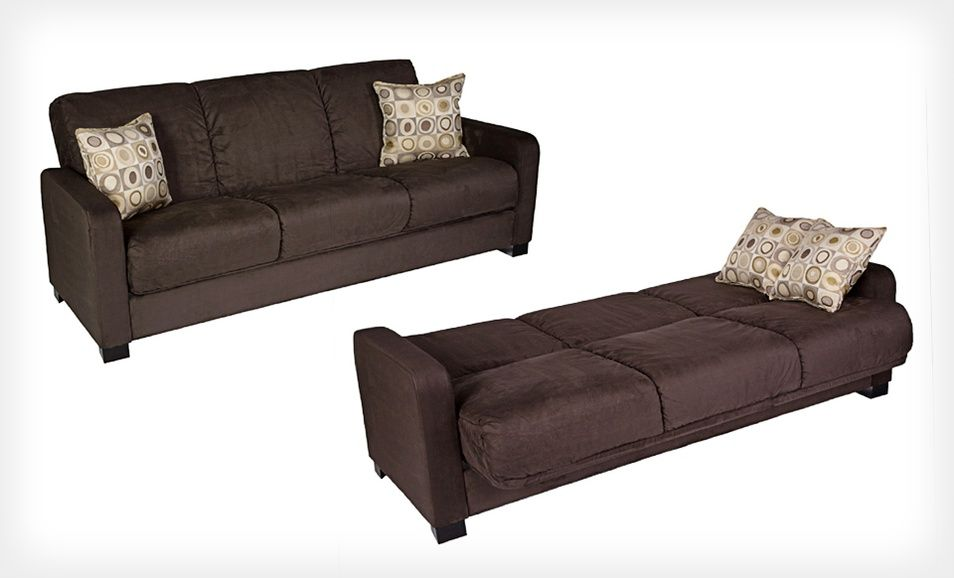 Groupon 369 99 For A Handy Living Microfiber Convert A Couch