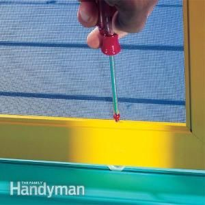 Sliding Screen Door Repair Tips - http://www.pinterest.com/avivbeber3/garage-repair-garage-door-4-less/
