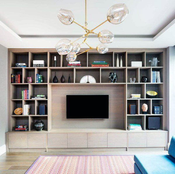 Top 70 Best TV Wall Ideas - Living Room Television Designs images