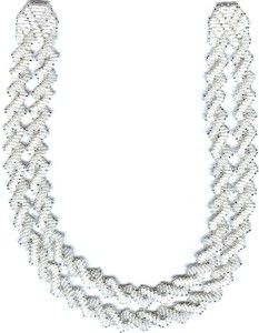 Beaded Wedding Necklace Pattern & Kit. (Click on picture