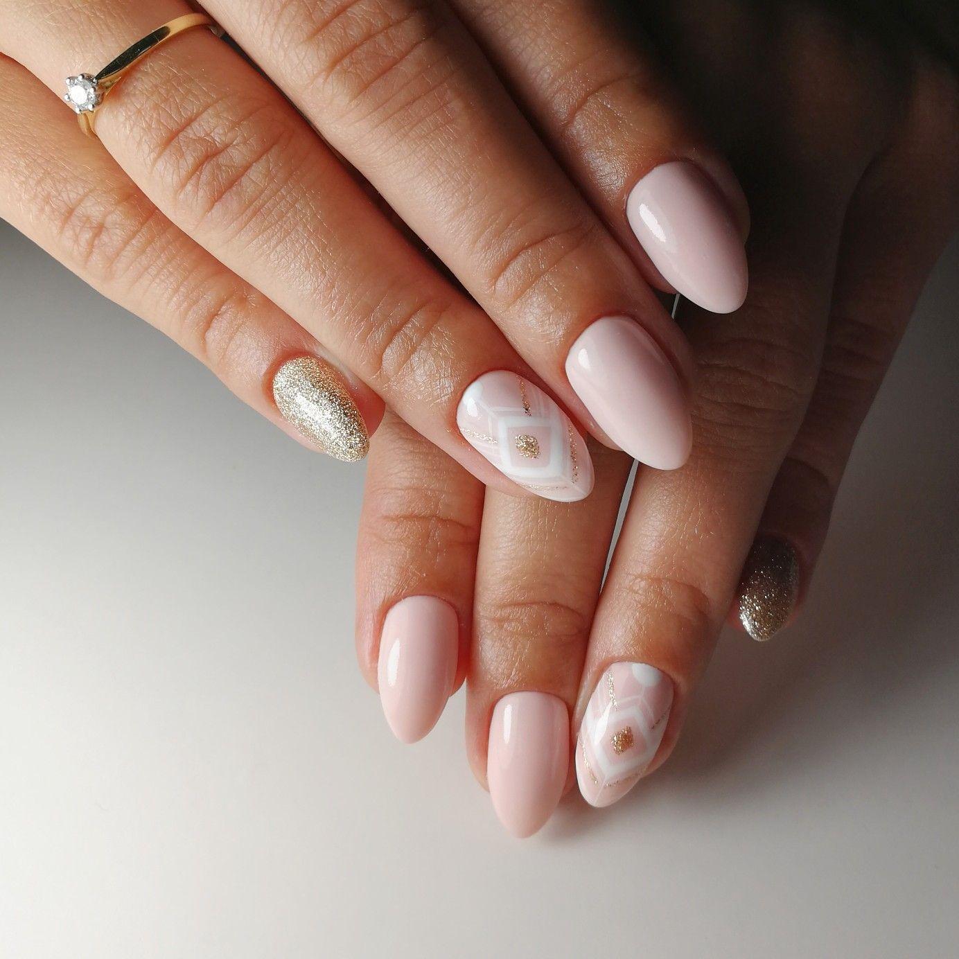 Nails Paznokcie Hybryda Hybrydy Semilac Mani Manicure Nails