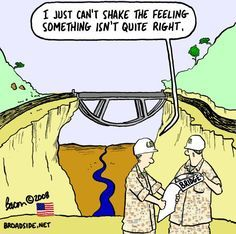 Never let dyslexic's design bridges. Civil Engineering Humor. Skyline Civil Group