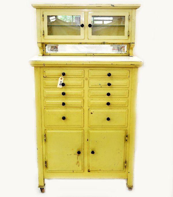 Vintage dental cabinet. #dentistry   Dentistry throughout history ...