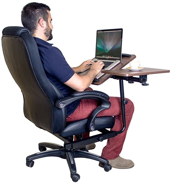Office Chair With Integrated Laptop