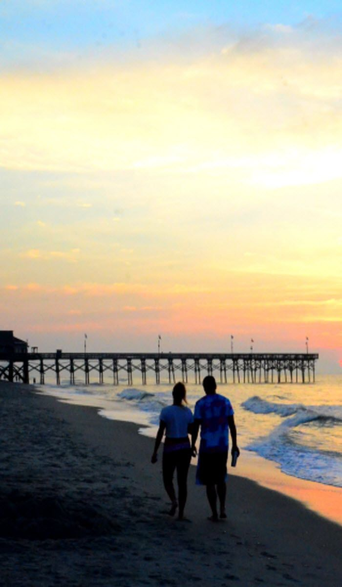 Myrtle Beach South Carolina Where Romance Begins With The Sunrise