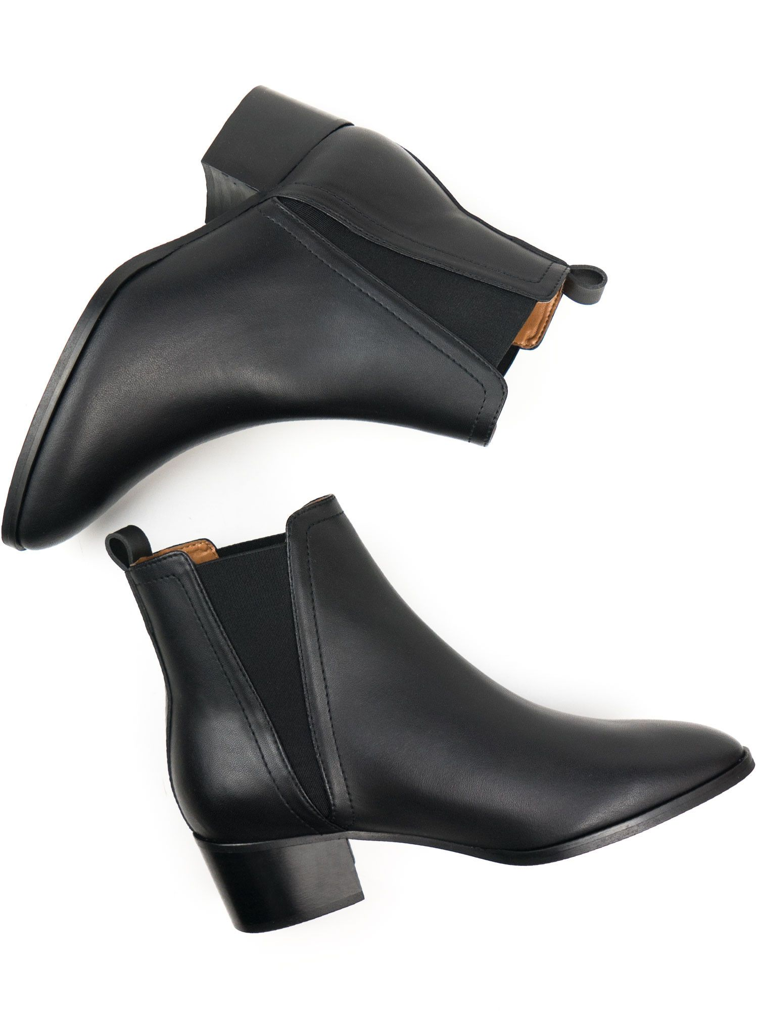 Point Toe Chelsea Boots Vegan Boots Vegan Shoes Chelsea Boots