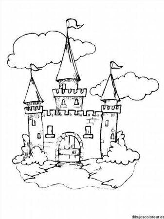 """Раскраски """"замок принцессы"""" скачать и распечатать ..."""