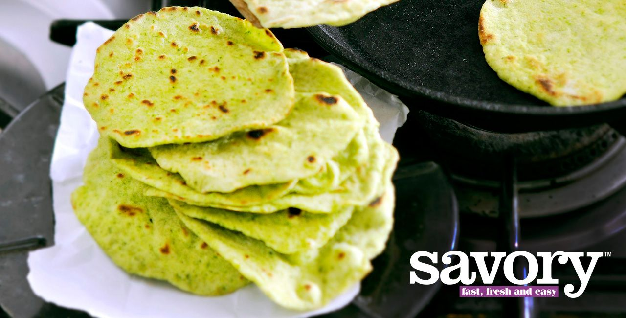 Photo of Spinach Tortillas Recipe from Peapod