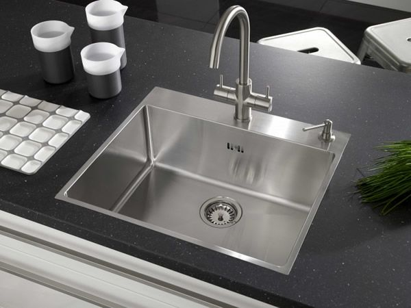 13 modern kitchen sink designs kitchen design for Contemporary kitchen sinks ideas