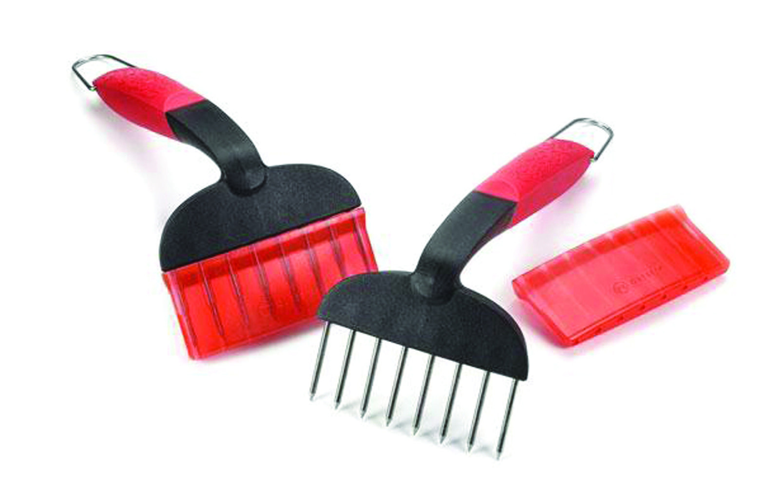 Red Norpro 949 2-Piece Meat Shredders