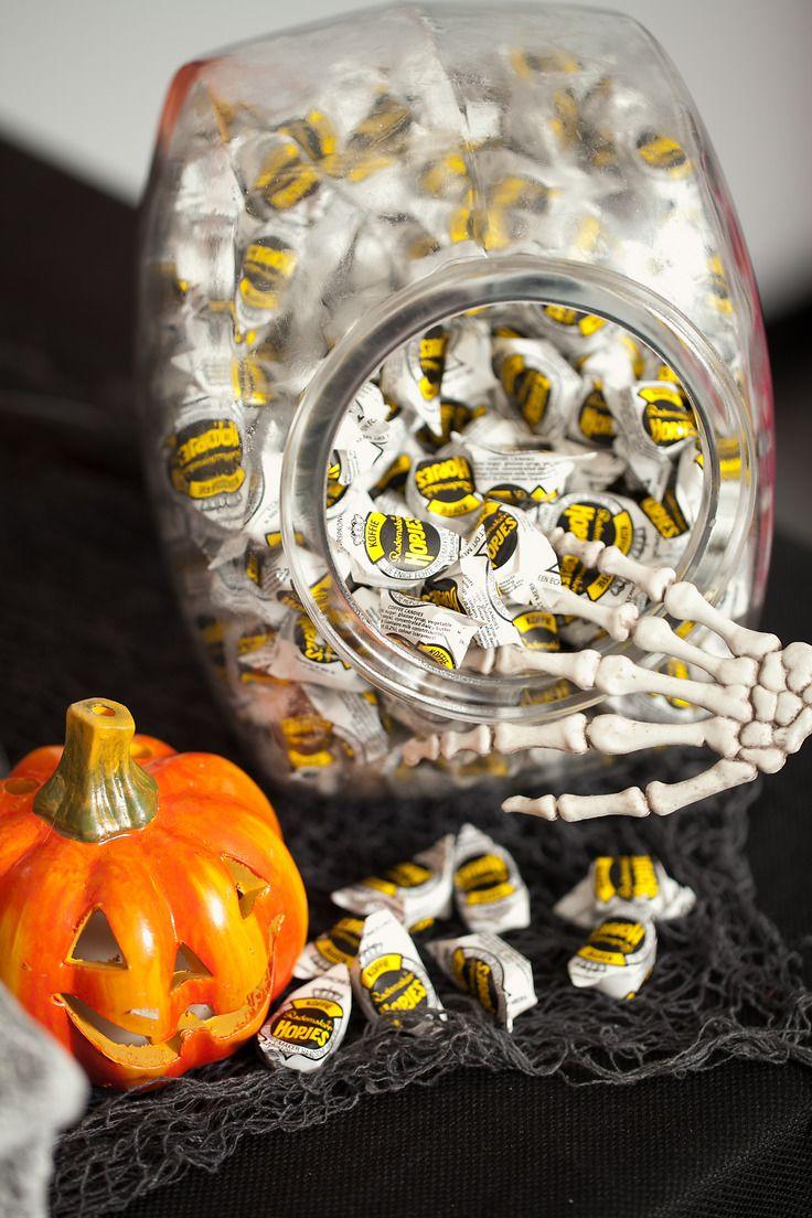 Halloween candy buffet idea - Nuts Com Halloween Candy Buffet