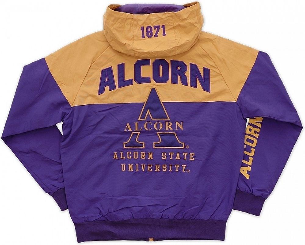 Big Boy Alcorn State Braves S4 Mens Windbreaker Jacket Purple M In 2020 Hoodies Men Pullover Mens Windbreaker Windbreaker Jacket