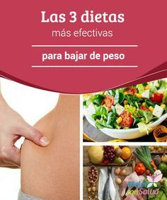 dietas efectivas para bajar abdomen