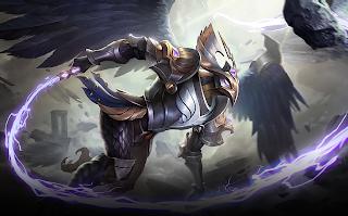 Dark As Night Mlbb Kaja In 2020 Mobile Legends Mobile Legend Wallpaper The Legend Of Heroes