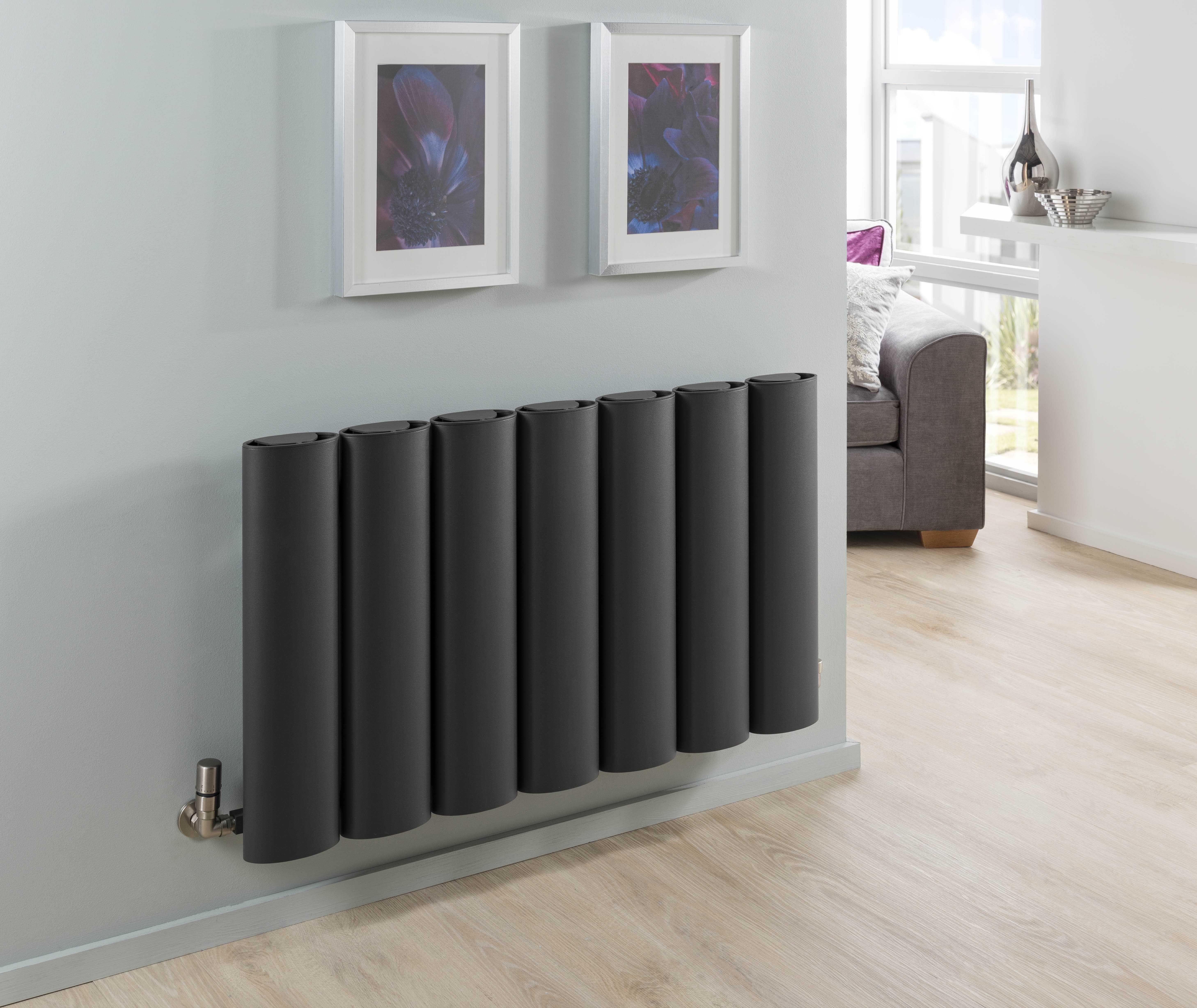 The Radiator Company Ovali Horizontal radiator this