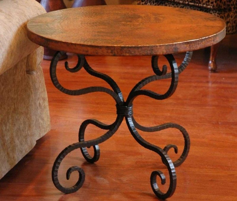 Rod Iron End Tables - Foter