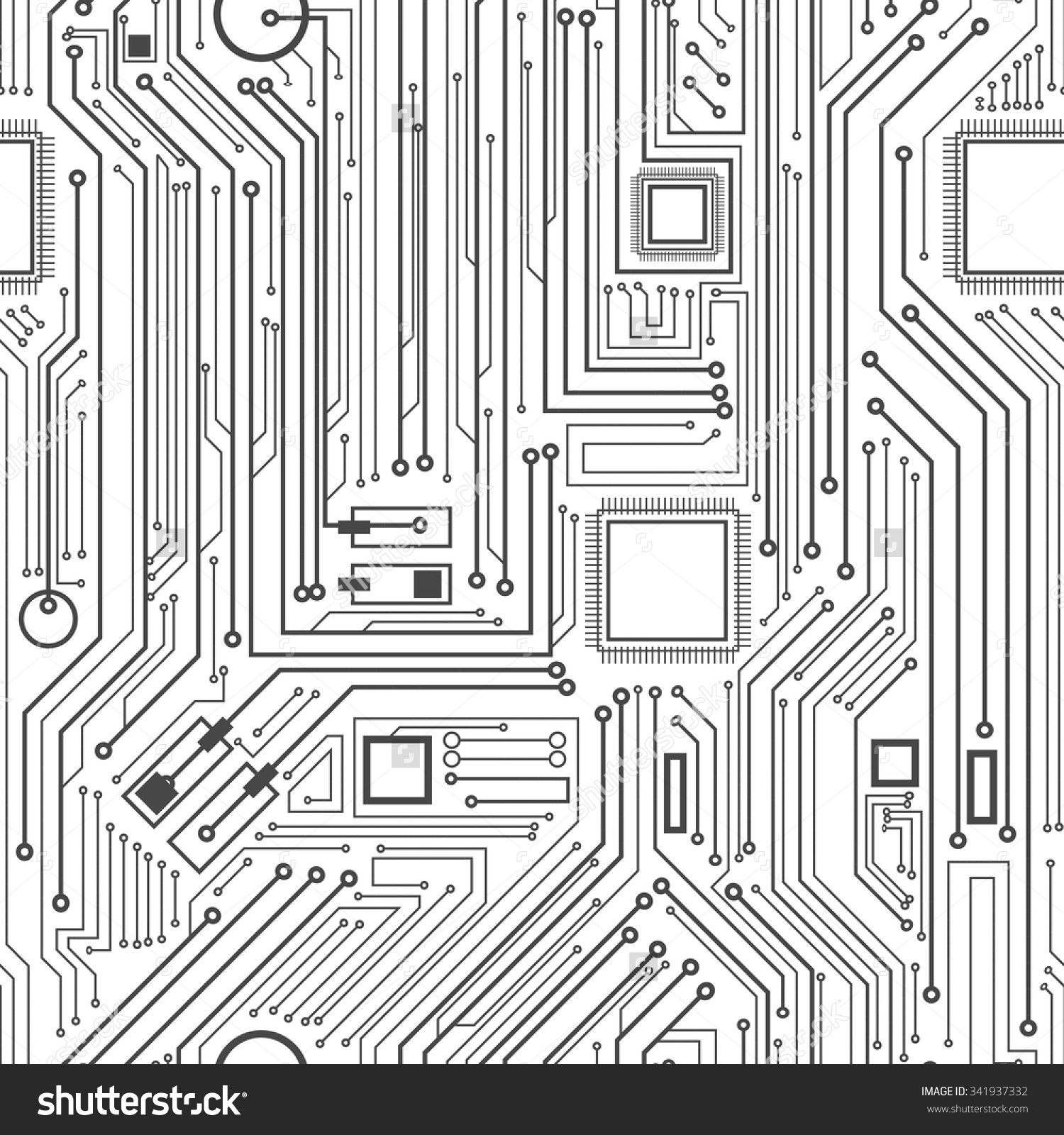Image result for circuit board pattern | Art!! | Pinterest | Circuits