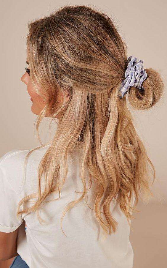 Peinados chulos que sólo puedes lograr con tus scrunchies