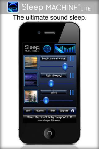 Sleep Machine Lite This free iTunes app promotes the