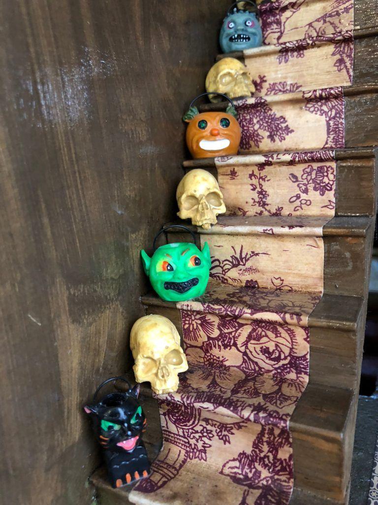 My Haunted Dollhouse Tour for Halloween - Cathie Filian & Steve Piacenza