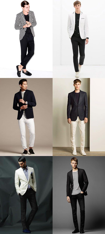 Smart casual attire men