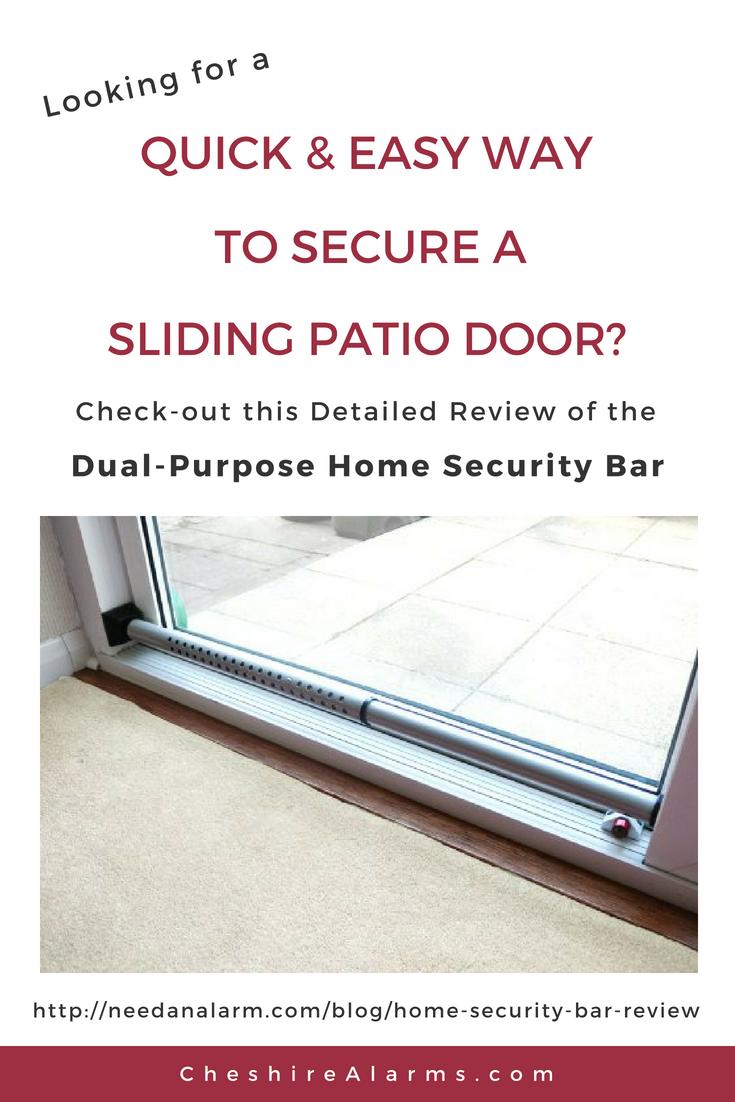 Home Security Bar Review Pinterest Sliding Patio Doors Patio