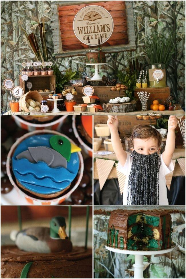 Duck Dynasty Party Idea: Duck Hunt Breakfast Birthday