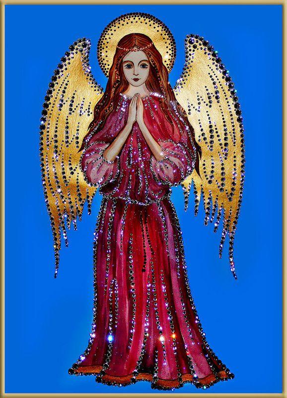 Ангел хранитель открытка анимация