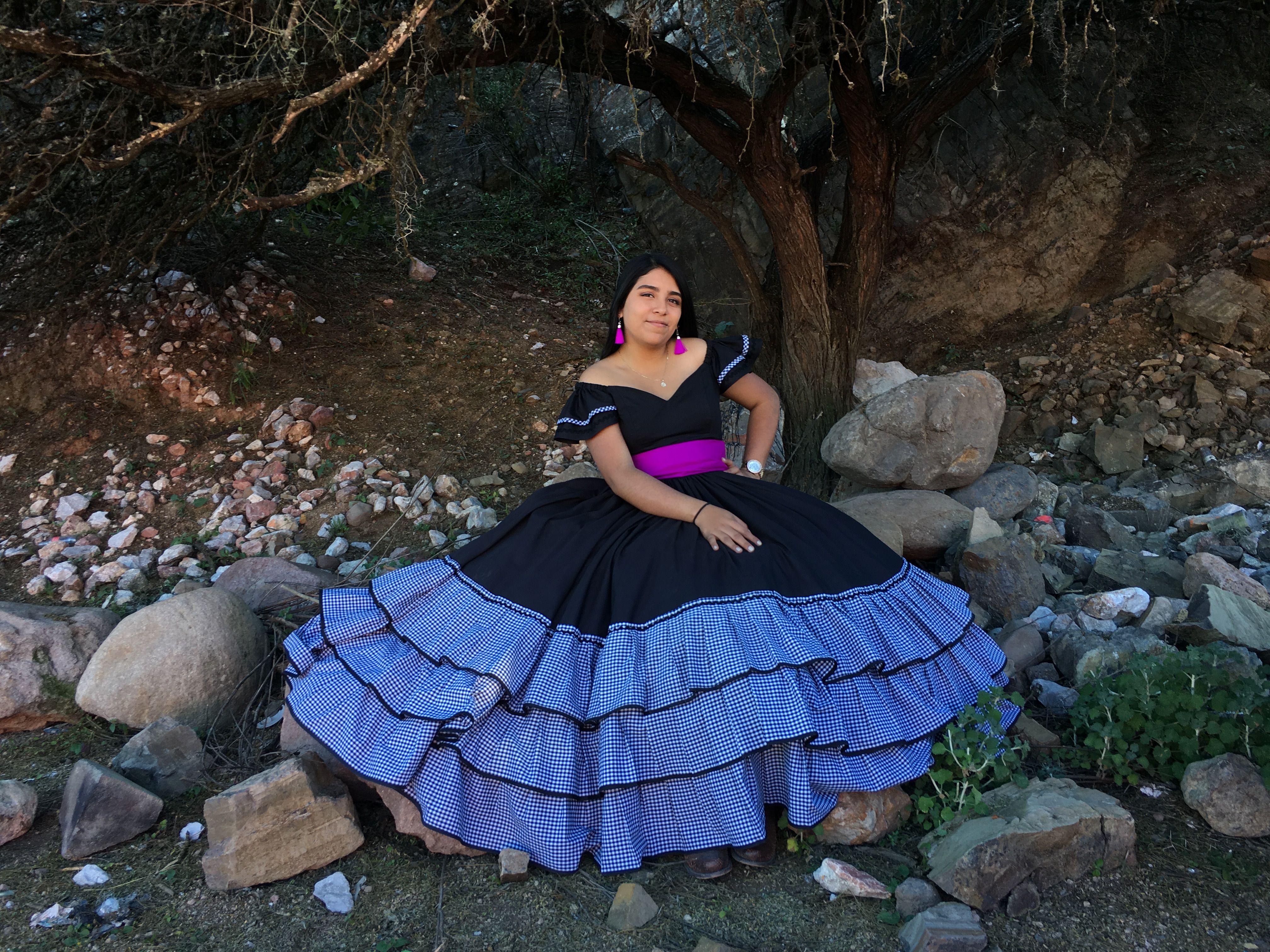 Vestido Mexicano Vestido Para Fiesta Mexicana En 2019