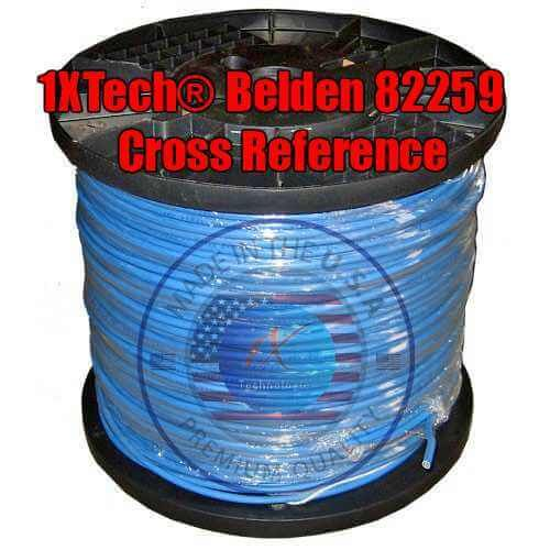 Belden 82259 Cable Price, Data Spec, Cross Reference [Equivalent ...